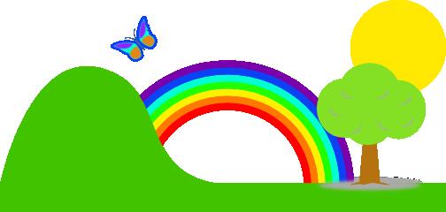 clip stock Rainbow Clip Art
