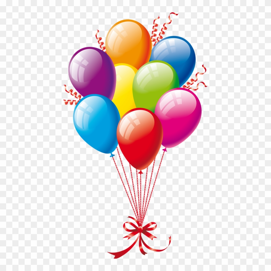 svg royalty free download Free clipart of happy birthday balloons.