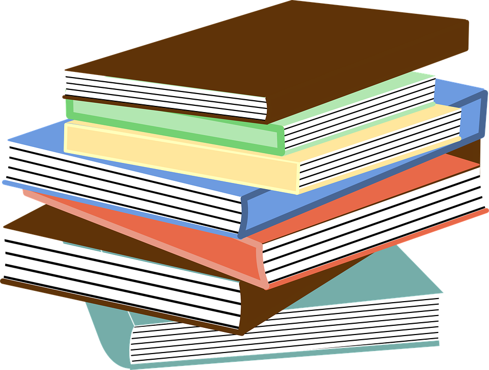 banner free download Free education clipart shop. Vector books realistic