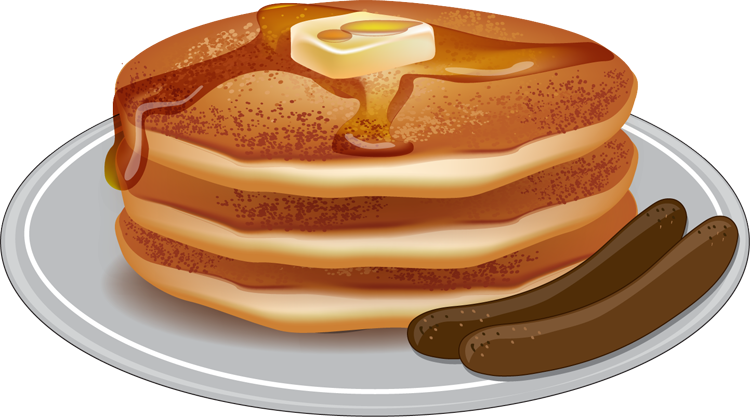 download Pancake vector.  collection of pancakes.