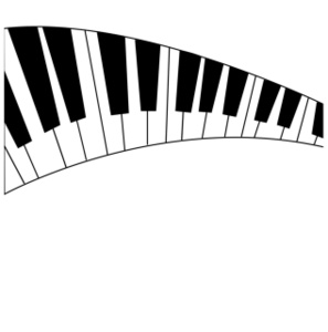 picture library Wavy piano keys clipart. Free cliparts download clip