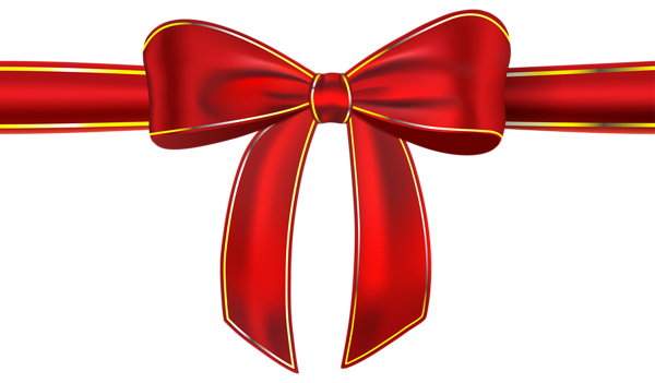 vector royalty free Red Ribbon with Bow PNG Clipart Picture