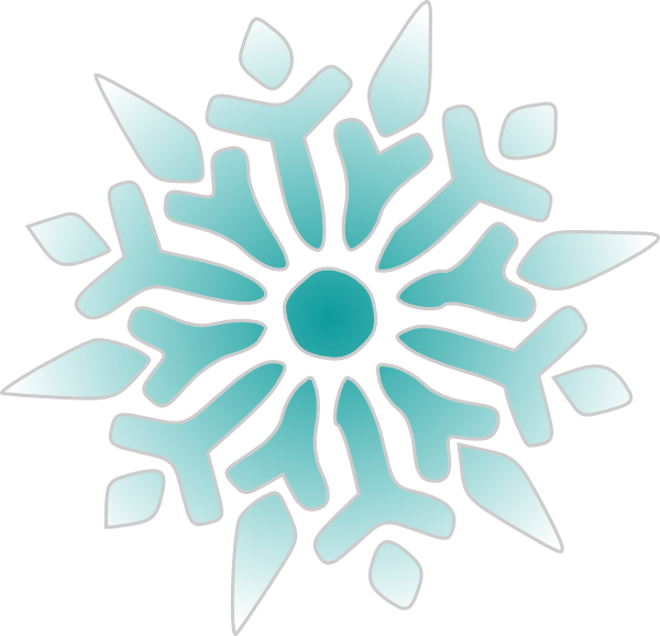png black and white download Snowflake Ice Blue Clip Art at Clker