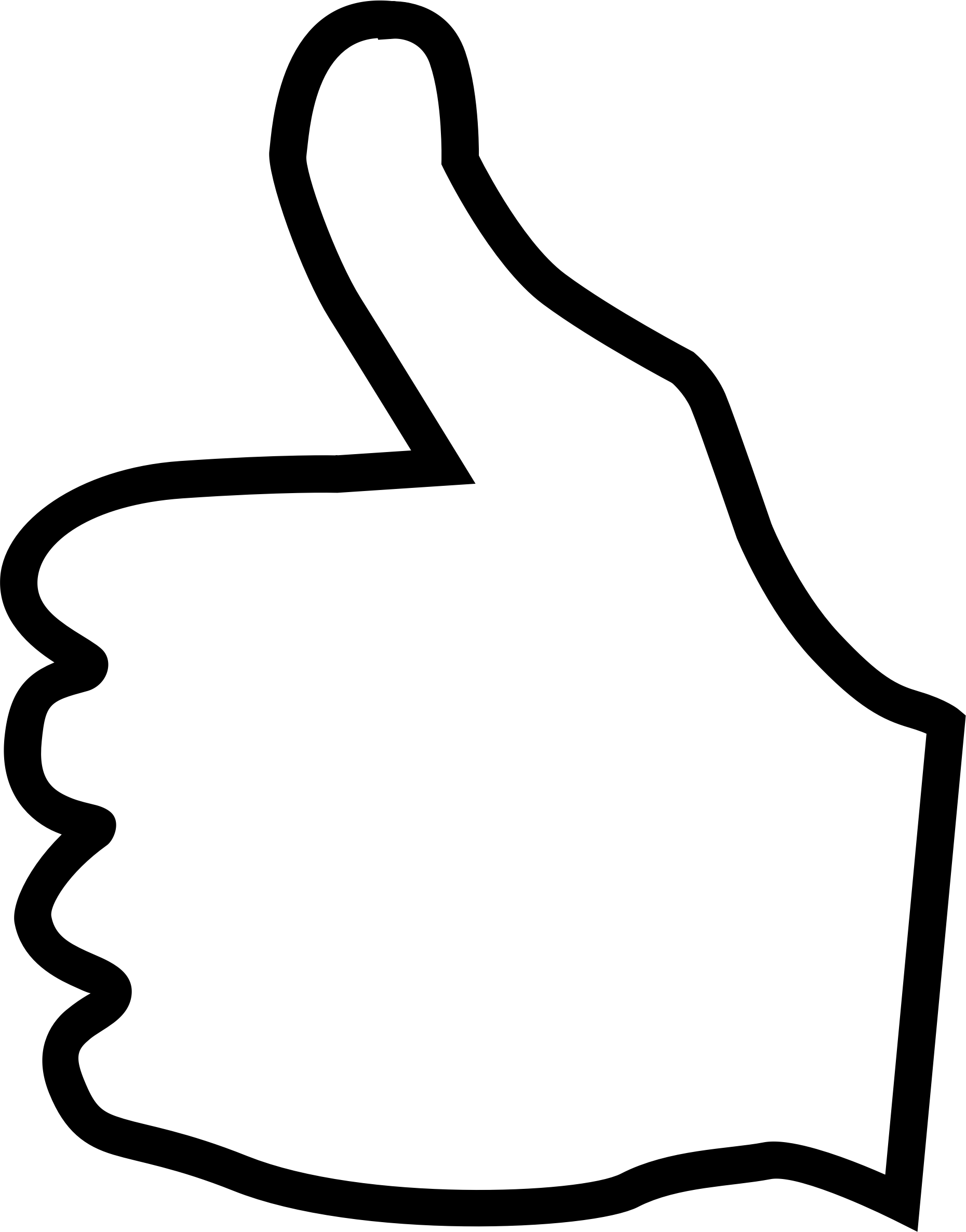 vector transparent stock Free Thumbs Up Clipart Pictures