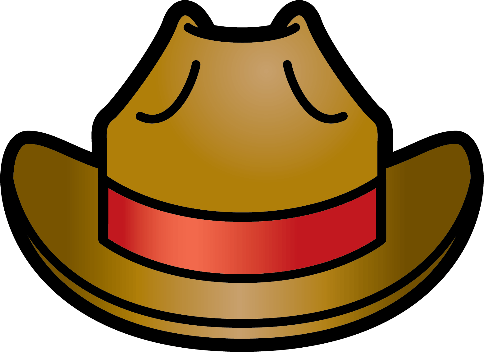 image freeuse library Cowboy hat download clip. Free clipart western theme.