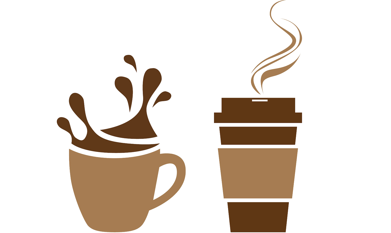 svg freeuse library Free coffee cup clipart. Cafe tea clip art