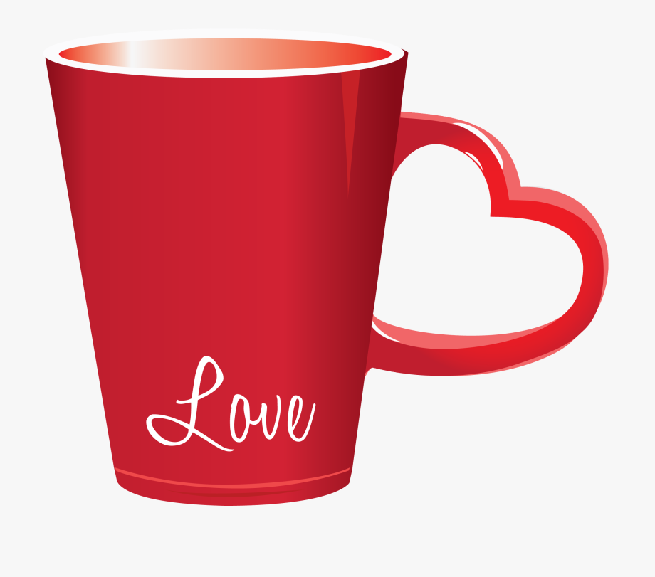 graphic transparent stock Valentine cup png . Free coffee mug clipart