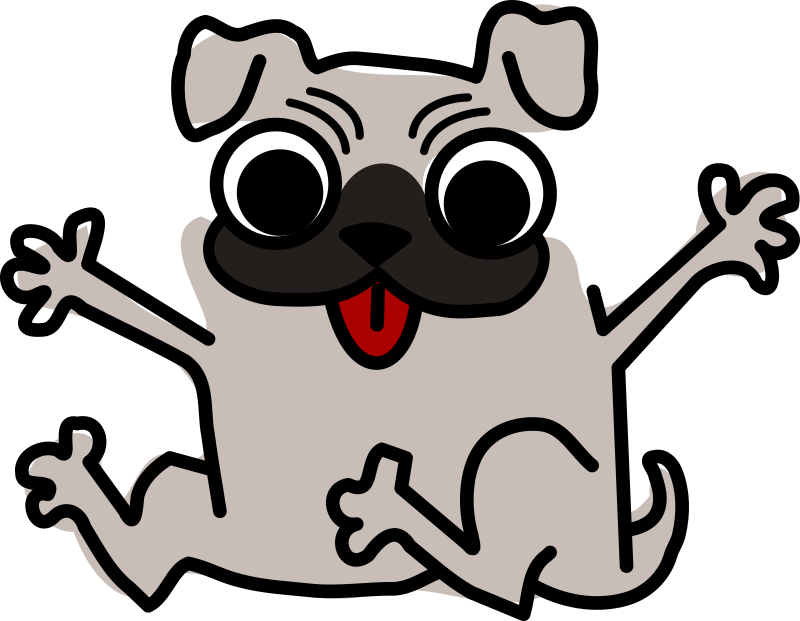 banner stock Dog Cartoon Clipart at GetDrawings