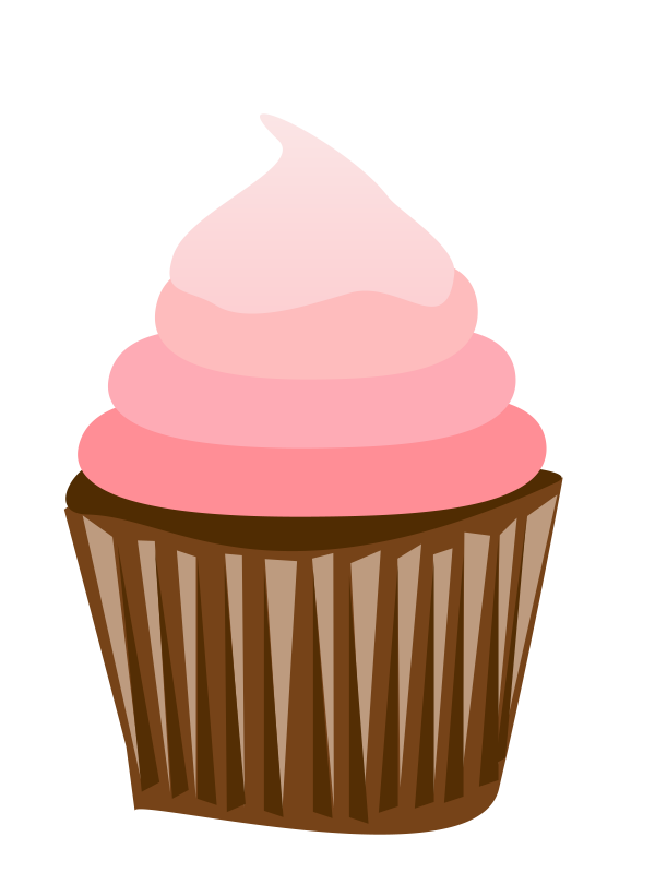 svg freeuse stock Cupcake Clipart Free Download