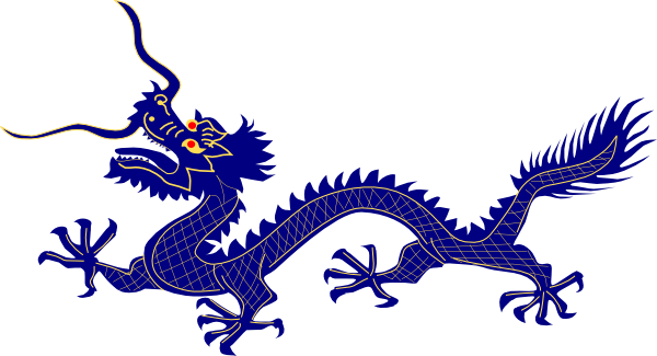 banner transparent download Chinese clipart long dragon. Asian