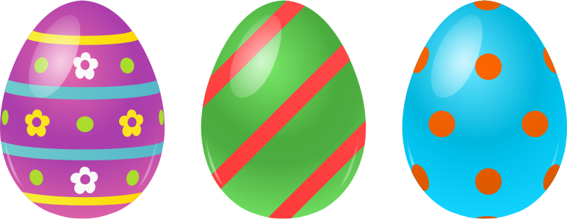 free stock Three Free Easter Clipart Png