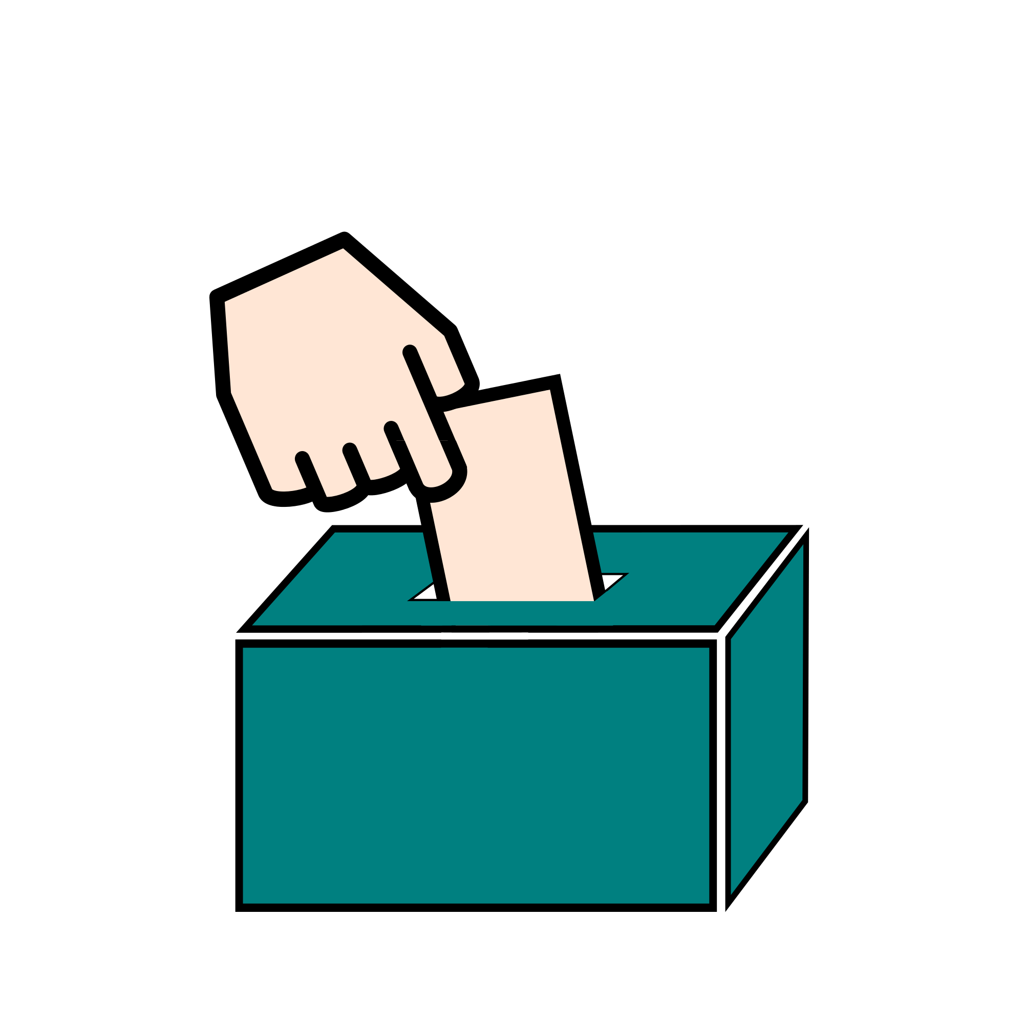 vector black and white library Collection of free Democracies clipart student council election