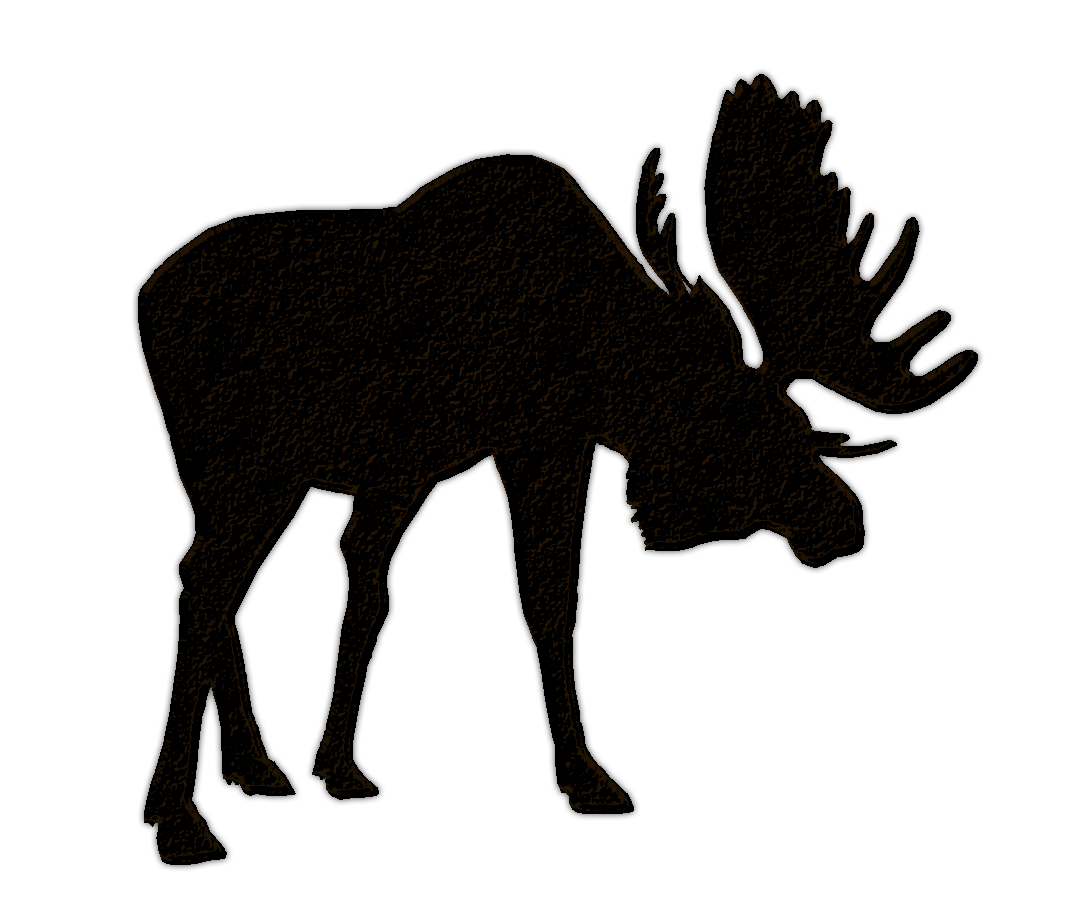 vector library library Elk Silhouette Clip Art at GetDrawings