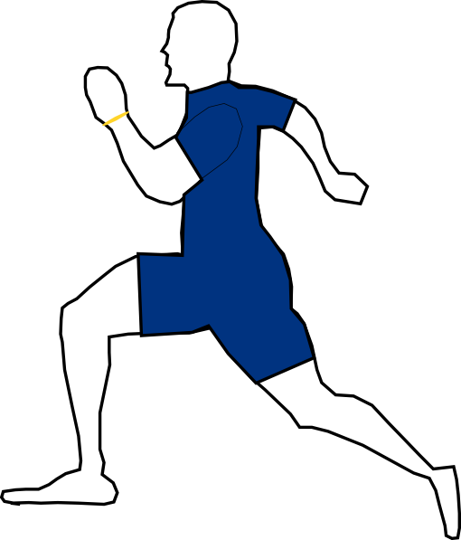 jpg freeuse library Man Jogging Exercise clip art