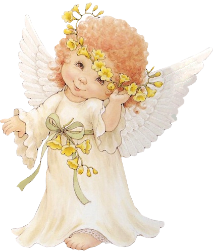 picture library library Cute Angel Free Clipart