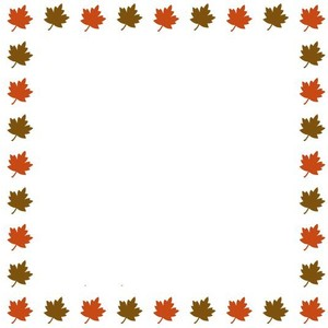 clipart freeuse download Free fall borders clipart. Leaves border panda images