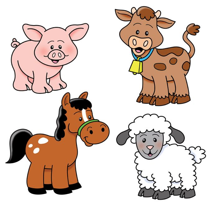 jpg black and white download Free farm animal clipart for teachers. Download best