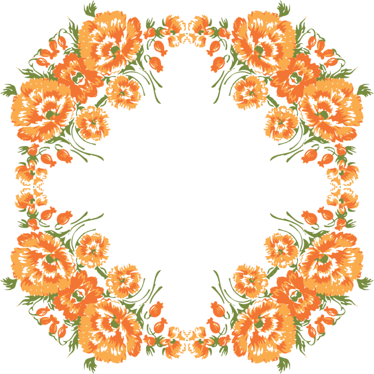 svg free library Free floral wreath clipart. Design cut flowers flower