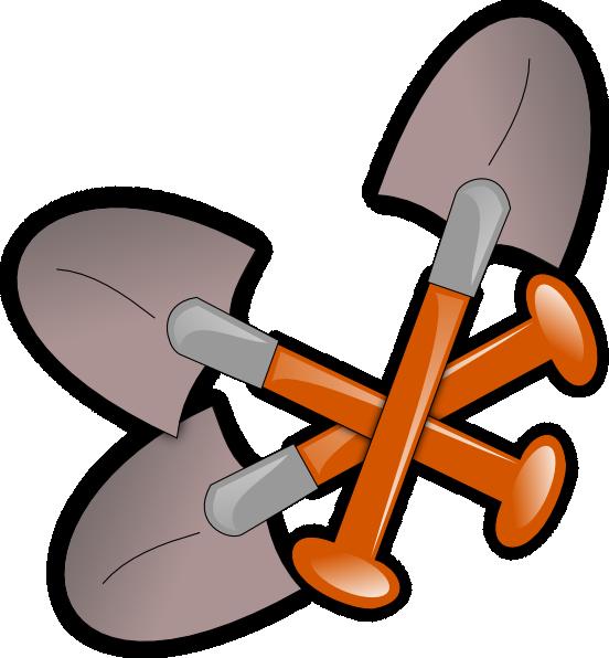 banner royalty free download Spade Tool Gardening Clip Art at Clker