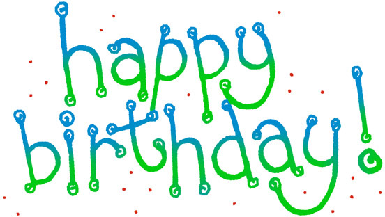 clip art free And to for invitations. Free happy birthday clipart graphics