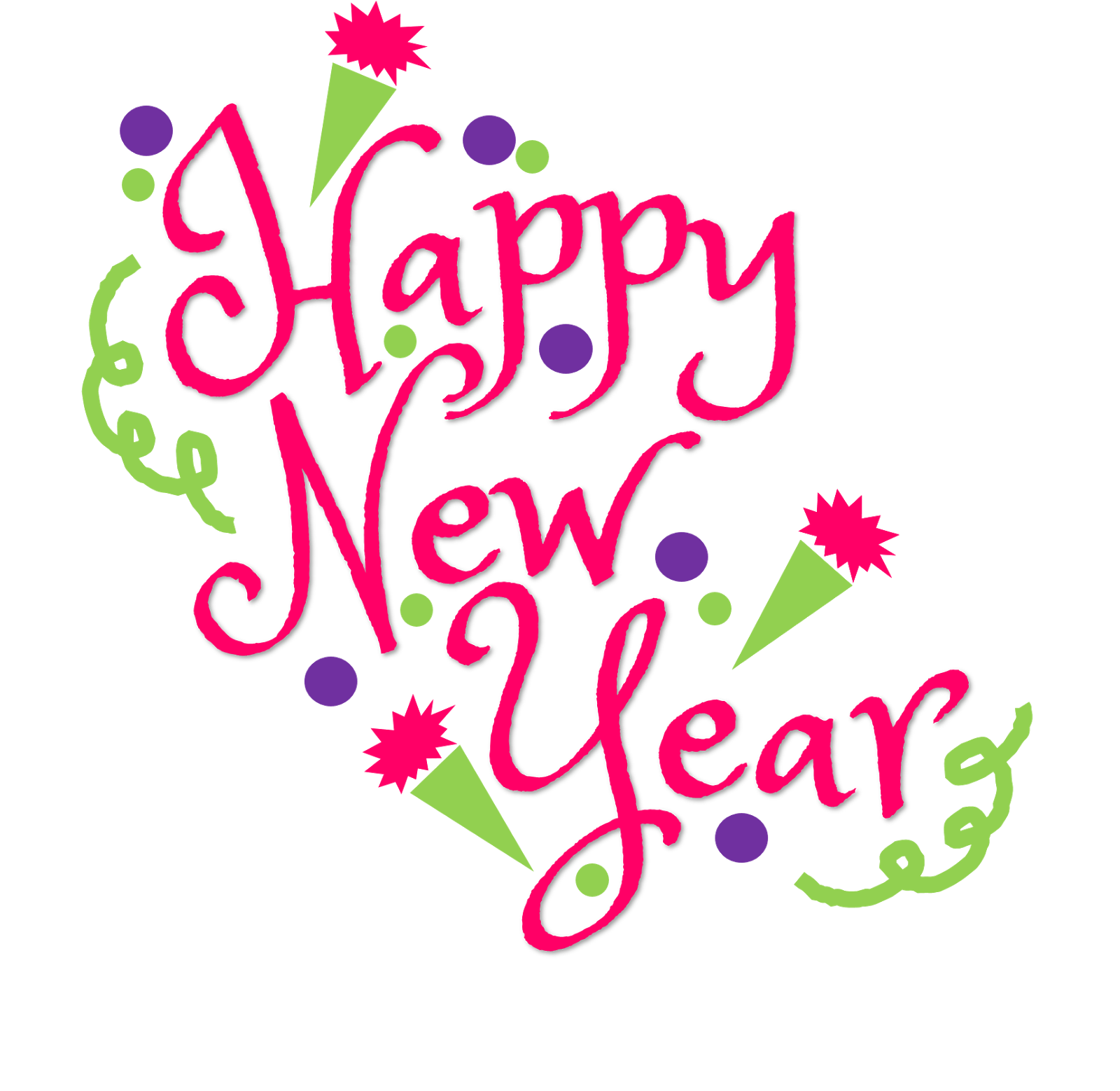 vector freeuse download Free happy new year clipart. Images colorful black and