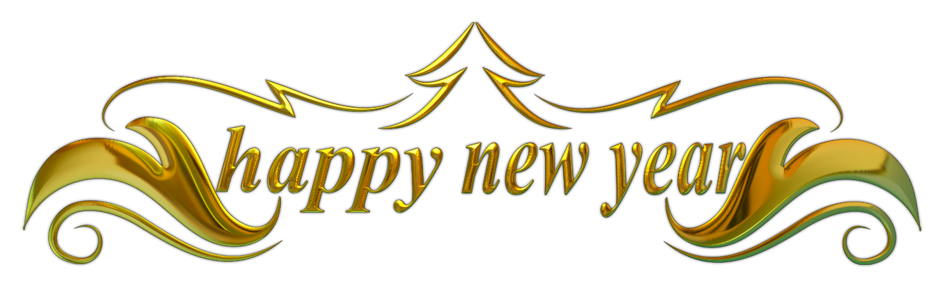svg royalty free stock Free happy new years clipart. Year banner transparent png