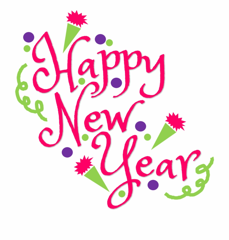 image free For download . Free happy new year clipart