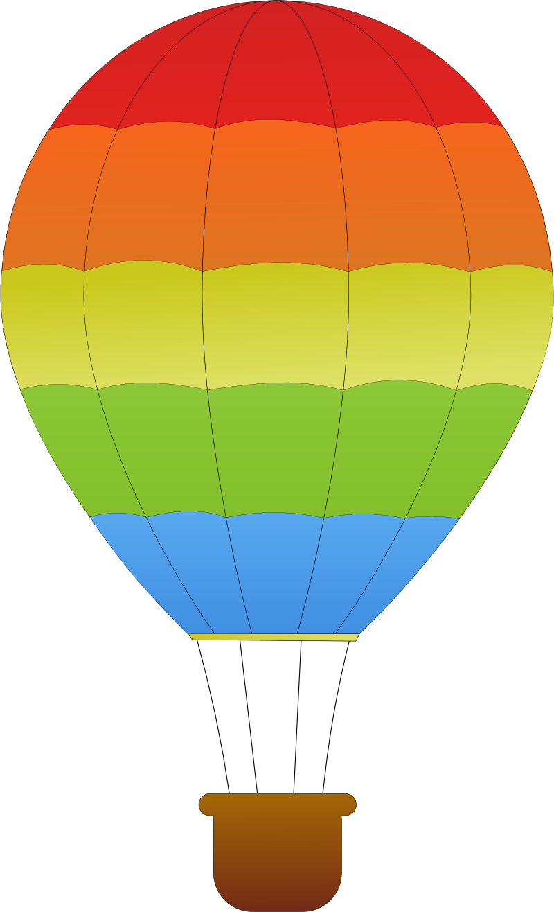 png transparent download horizontal striped hot air balloons SVG