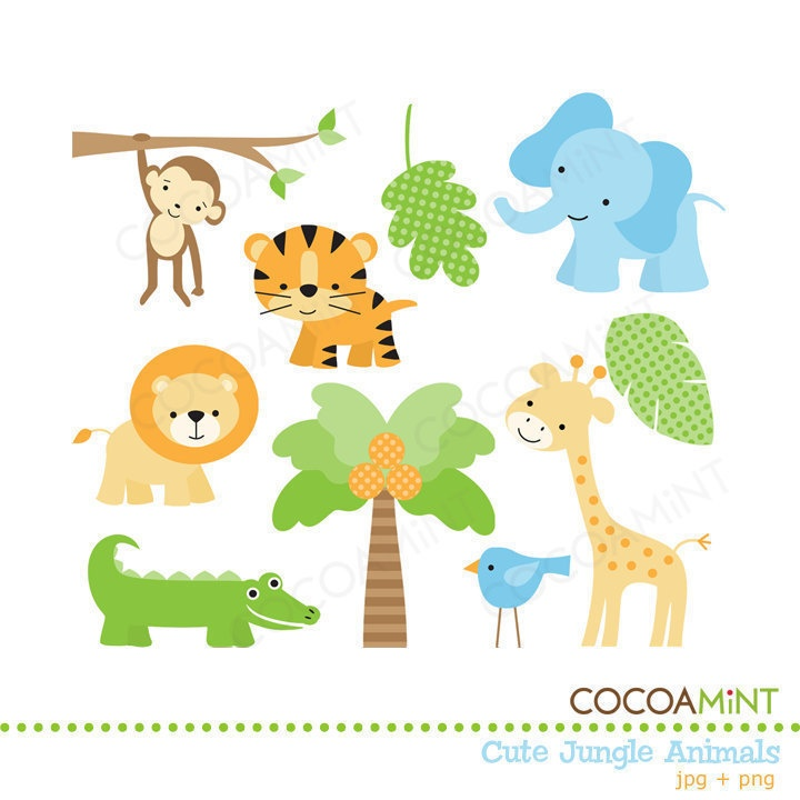 clipart free download Free jungle animal clipart.  clipartlook