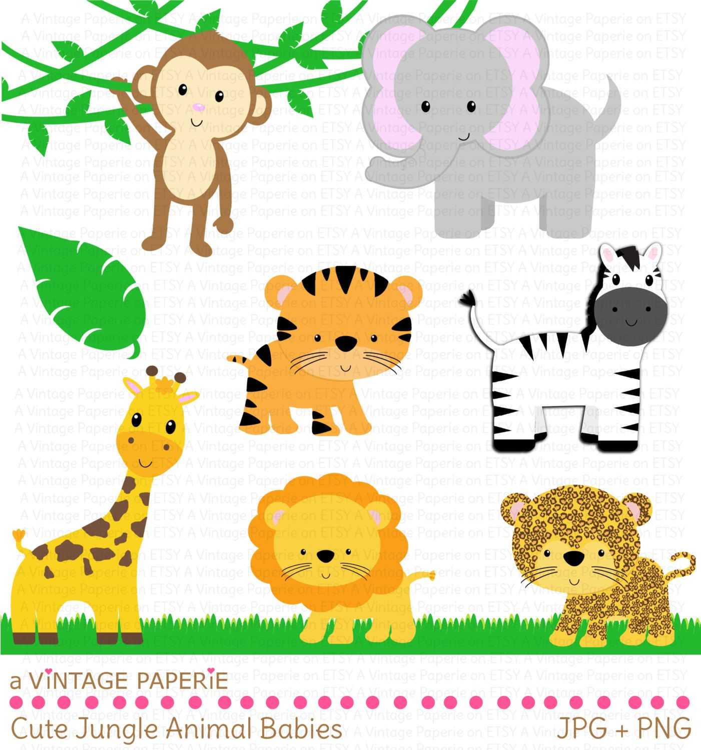 picture download Free large images first. Baby zoo animals clipart