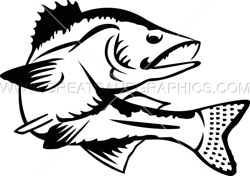 clip library Walleye free clipartmansioncom. Rainbow fish clipart black and white