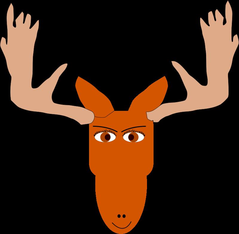 jpg transparent download Christmas Moose Clipart at GetDrawings