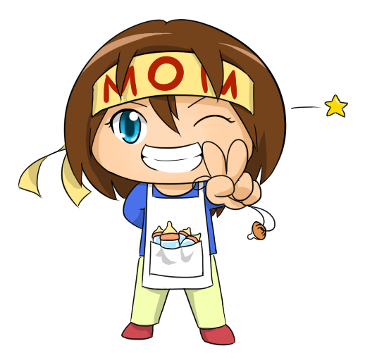 banner Funny mother . Free mothers clipart