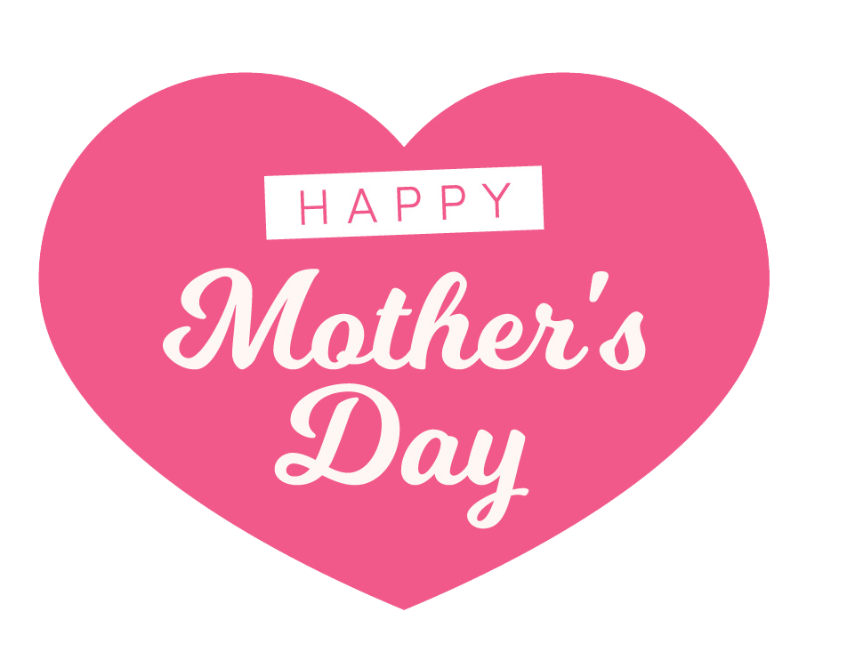 graphic library download Download happy mothers heart. Vector baby mother's day