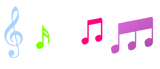image royalty free download Music Notes Clipart