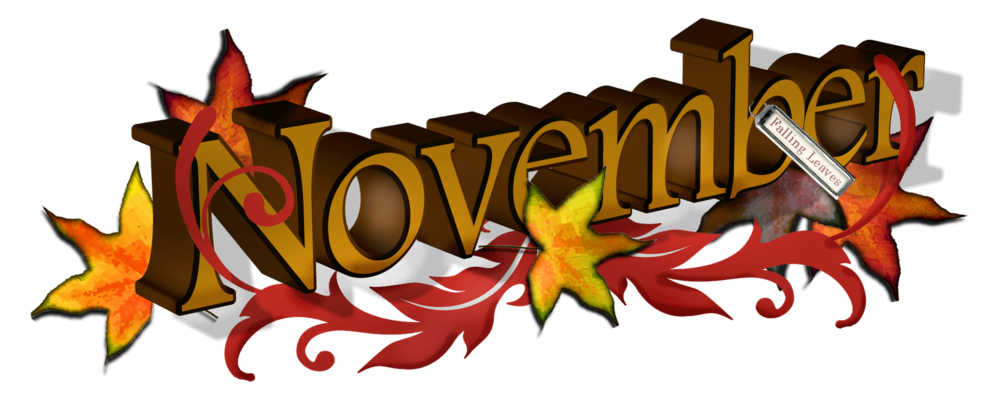 svg library download free november clipart #63461169