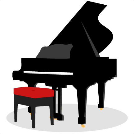 clipart freeuse stock Piano SVG scrapbook cut file cute clipart files for silhouette