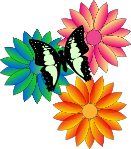clip art free download Spring flowers . Free printable clipart