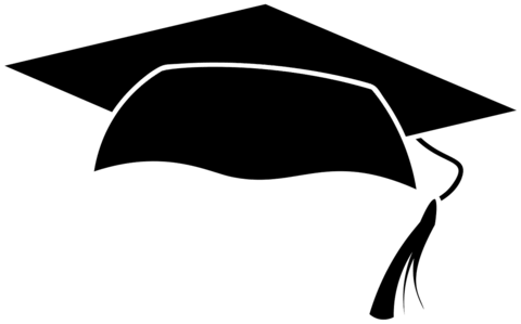 clipart transparent Graduation Cap Template