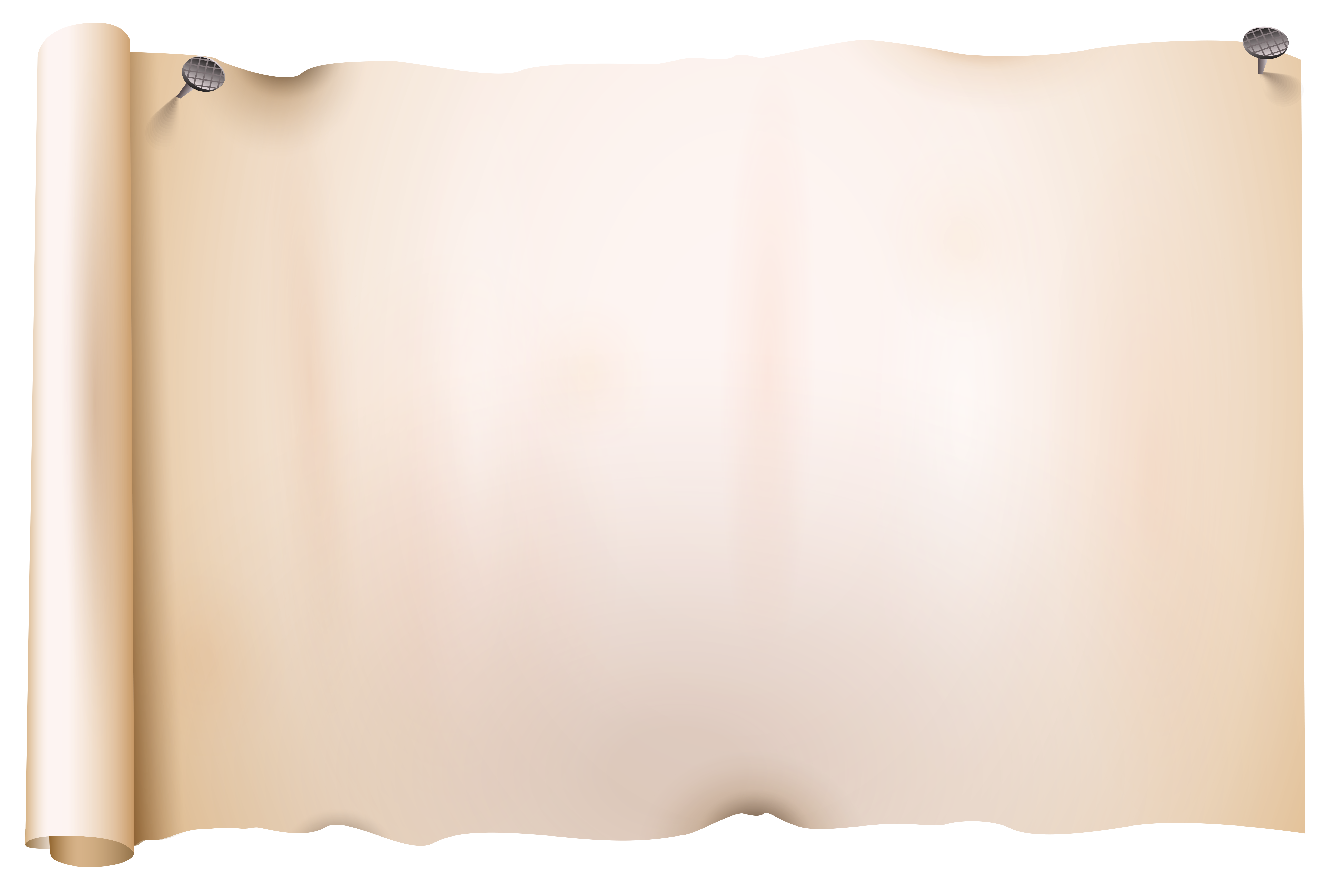 graphic transparent library Old Scroll Paper PNG Clipart Image