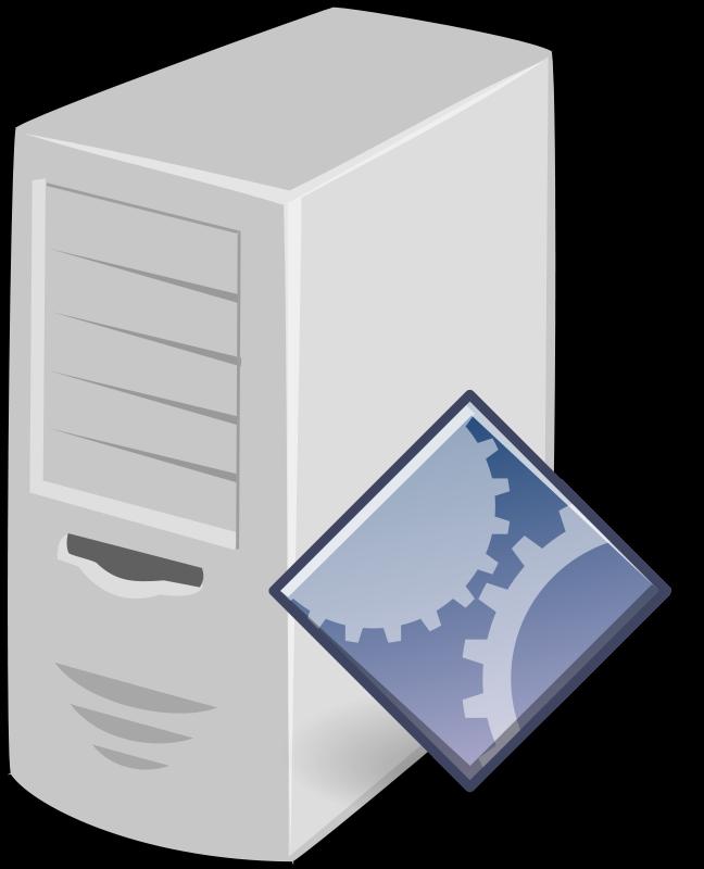 clip art royalty free Application Server Server Clipart
