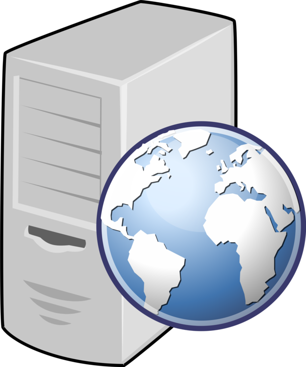 graphic black and white stock Web service clipart. Server computer servers hosting