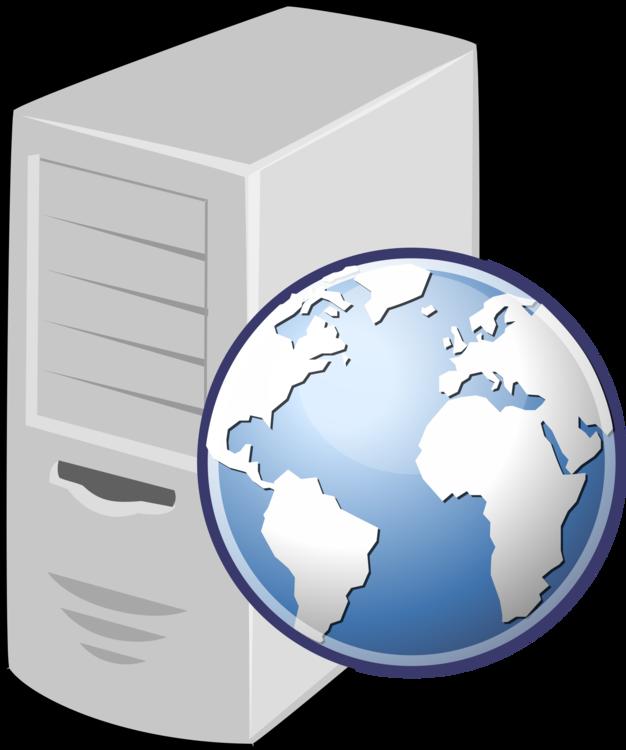 vector stock Web server Computer Servers Web hosting service Internet hosting