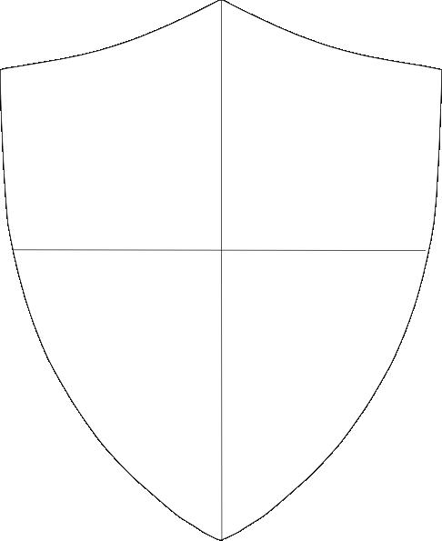 vector transparent download Vector crest blank. Free baseball stencil shield