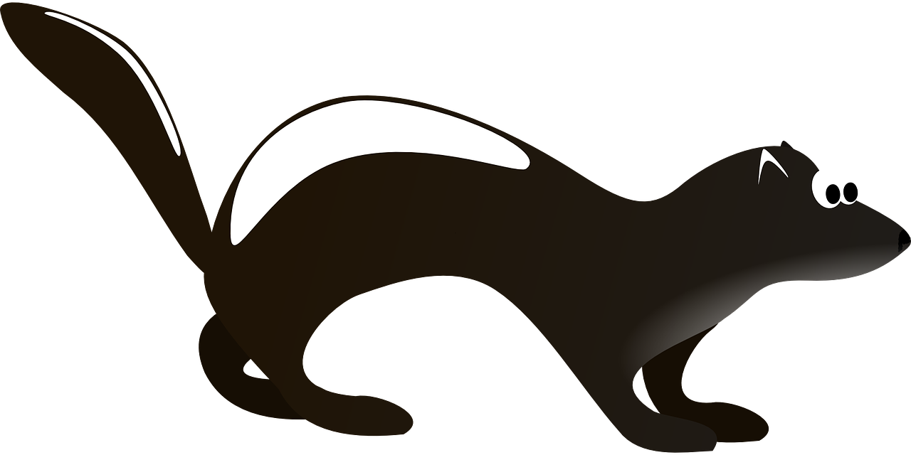 clip art library stock Skunk Clipart