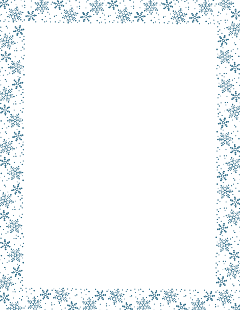 banner transparent stock Pin by muse printables. Snowflake borders clipart.