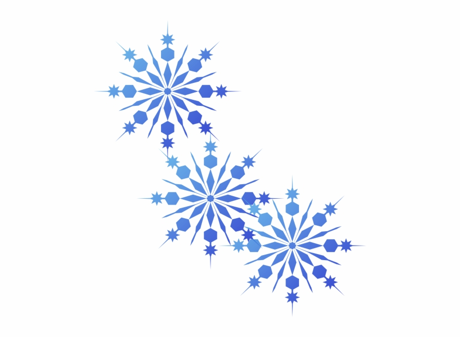 graphic black and white stock Blue png snowflakes clip. Free snowflake clipart