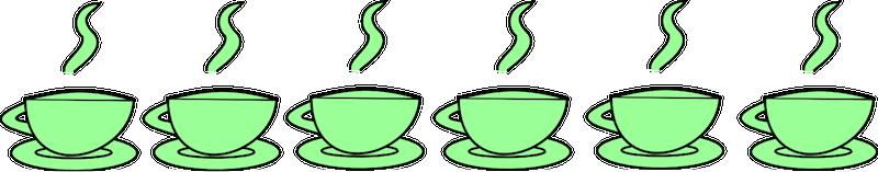 png transparent Free teacup clipart. Tea cup border digital