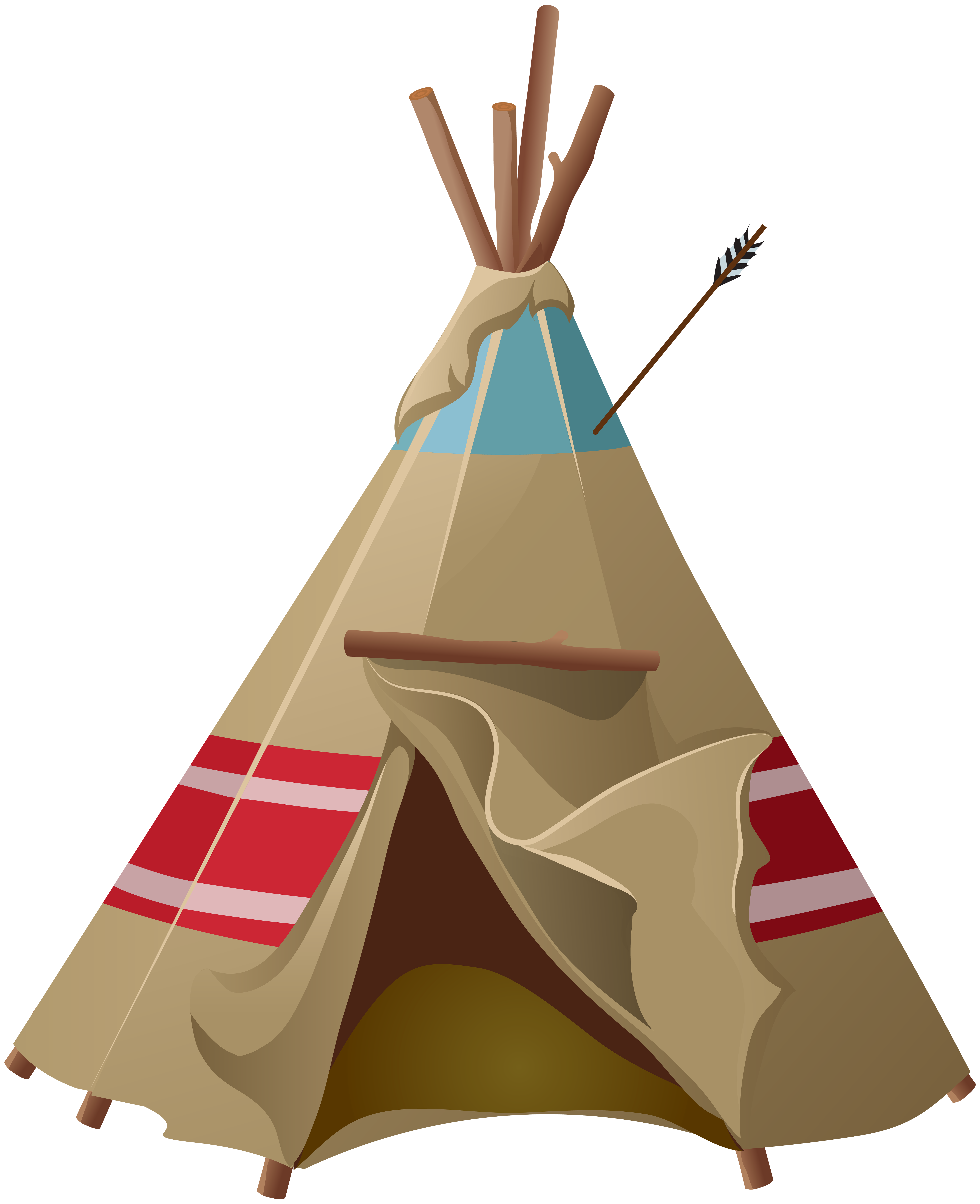 banner free stock Tipi png clip art. Free tent clipart