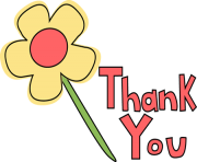 graphic free stock You free images flower. Thank clipart.
